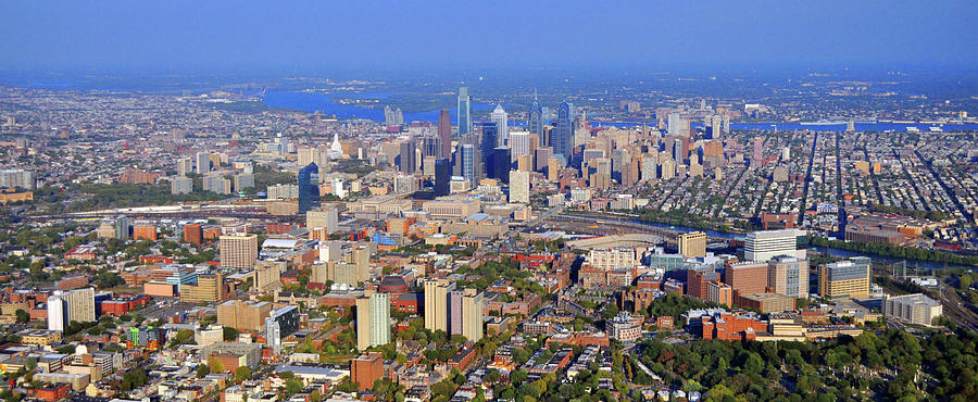 University City Philadelphia Fall 2010 Photograph By