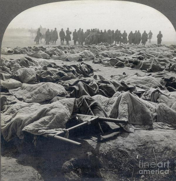 World War I: Russian Dead Photograph by Granger