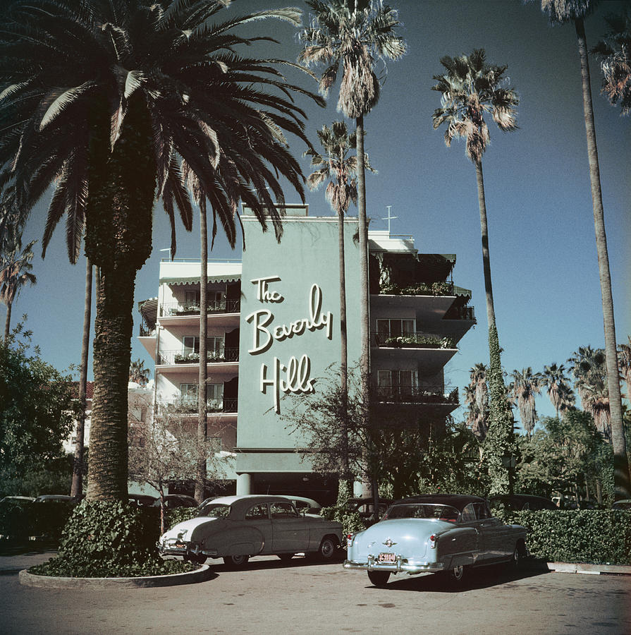 beverly hills hotel by slim aarons