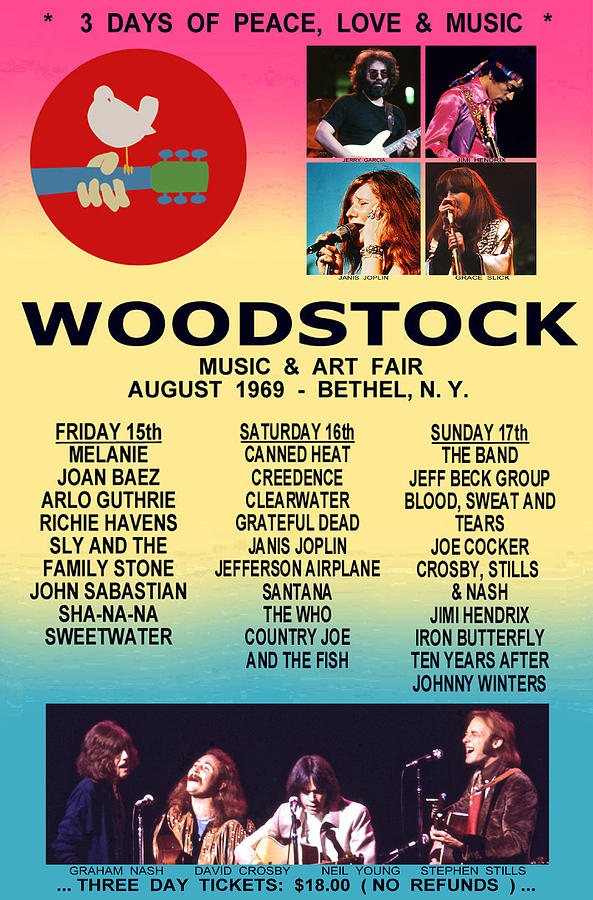 rare woodstock 1969 by jas stem
