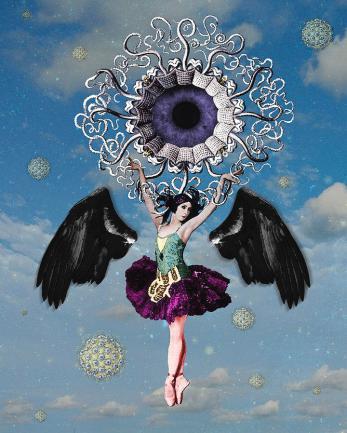 Third Eye Opening Digital Art by Loveday Funck