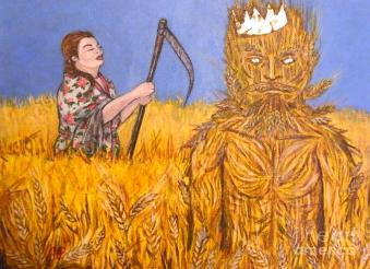 John Barleycorn Must Die Painting by John Peaspanen