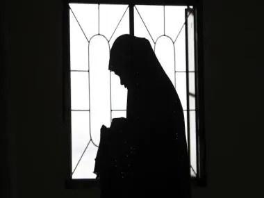 sad woman Silhouette reuters 640