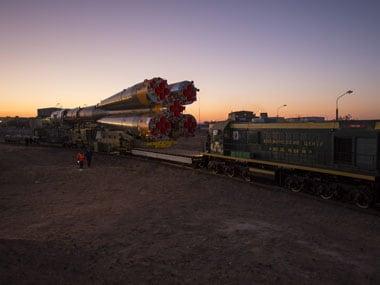 Soyuz carrying three astronauts docks at International ...