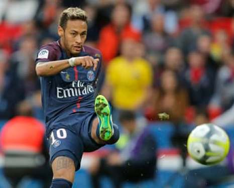 Image result for neymar-opens Tuchel-ligue-one-account-psg-on-winning-note