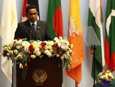 File image of Maldivian president Abdulla Yameen. AFP