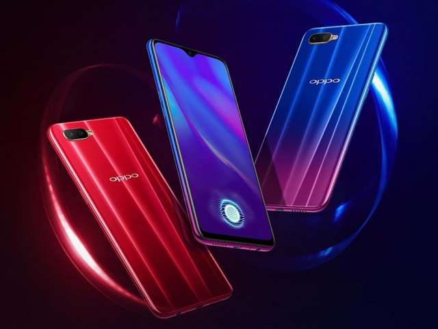 Oppo K1 launched in India at Rs 16,990. Image: Oppo China