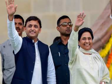 File photo of Akhilesh Yadav and Mayawati. PTI