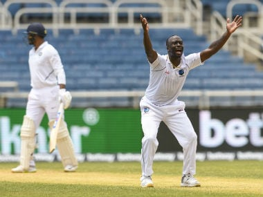 West Indies have a great chance of beating England if they can get stuck into them, says Kemar Roach