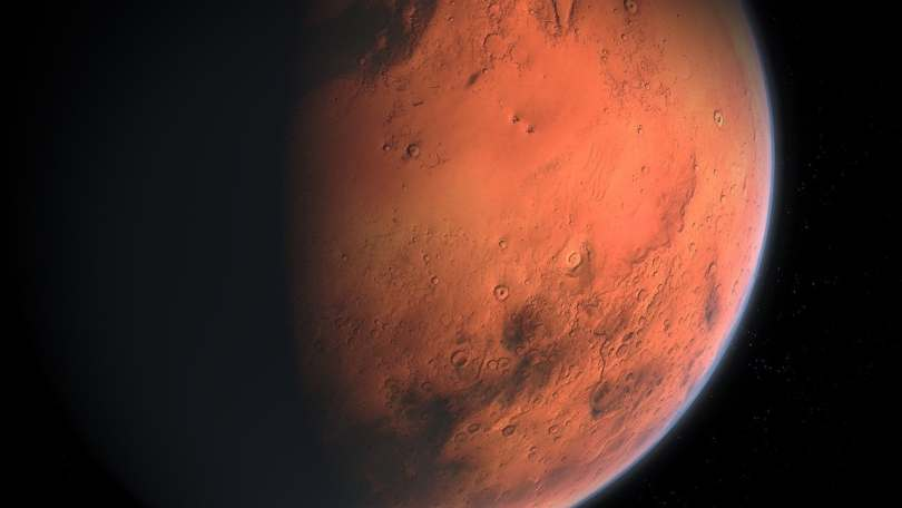 Water vapour from Mars is sent high into atmosphere where it gets lost in space