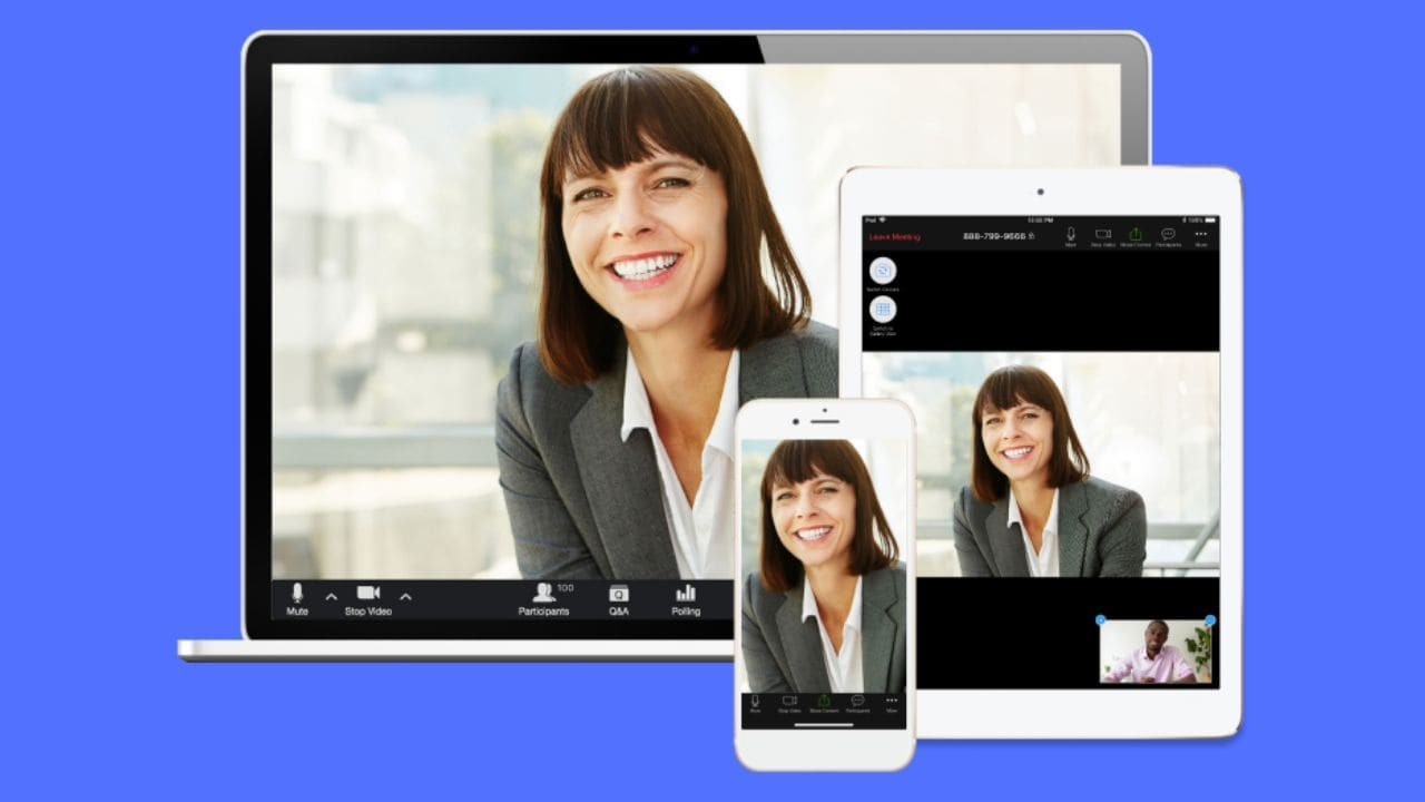 Zoom will temporarily lift its 40-minute limit for all meetings globally on 26 November- Technology News, Gadgetclock