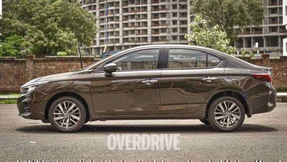 2020 Honda City's side view. Image: Overdrive
