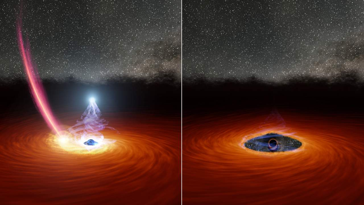 Corona of supermassive black hole seen disappearing, reappearing in a remarkable first- Technology News, Firstpost