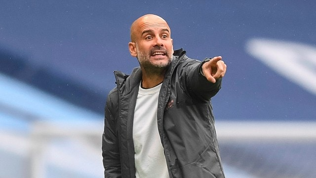 Champions League: Pep Guardiola urges Manchester City to 'control emotions' ahead of crucial 2nd leg semi-final against PSG