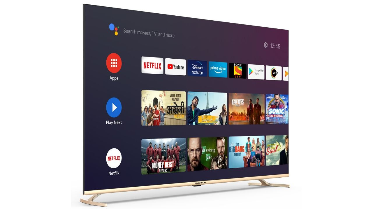 Thomson to launch 'Make in India' 75-inch Oath Pro Android TV on 6 August, priced at Rs 99,999- Technology News, Firstpost