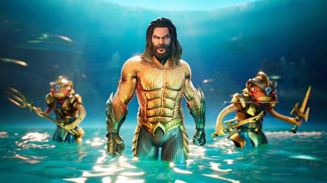 Fortnite adds a new Black Manta skin, says it is Aquamans greatest nemesis