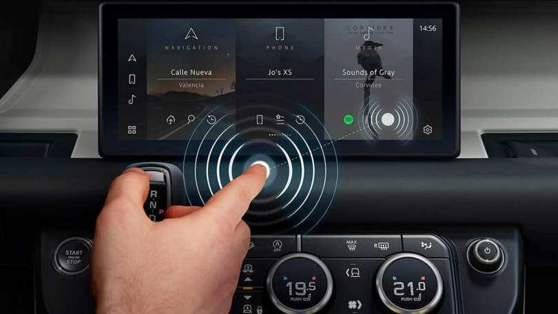Jaguar Land Rover teams up with University of Cambridge to develop an AI-based contactless touchscreen tech