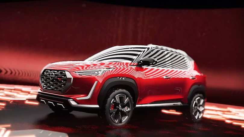 Upcoming Nissan Magnite SUVs production version leaked ahead of the early 2021 launch