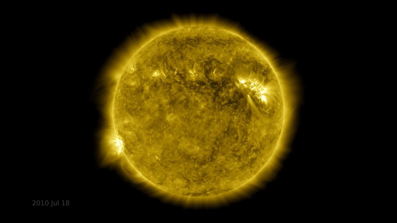 NASA turns the Solar Observatory's images into a time lapse of the Sun's life over the past 10 years- Technology News, Gadget Clock 3