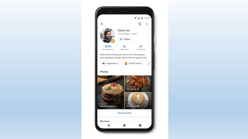 Google Maps rolls out local guides feature where you can follow users just like on Facebook and Instagram