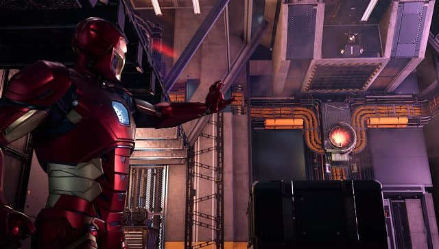 Screen grab from Marvel's Avengers captured via the game's Photography Mode