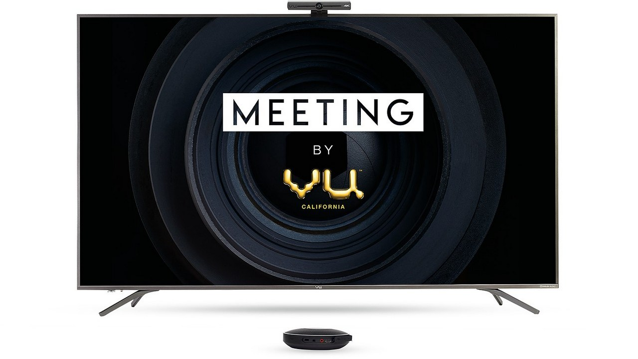 Vu workforce launches video conferencing resolution referred to as 'Meeting by Vu' with massive presentations, Eight GB RAM, and more