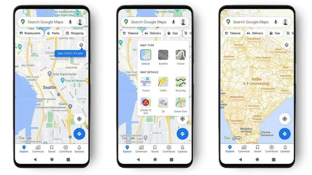 Google Maps gets COVID-19 features, updates: Users to receive live crowdedness info globally