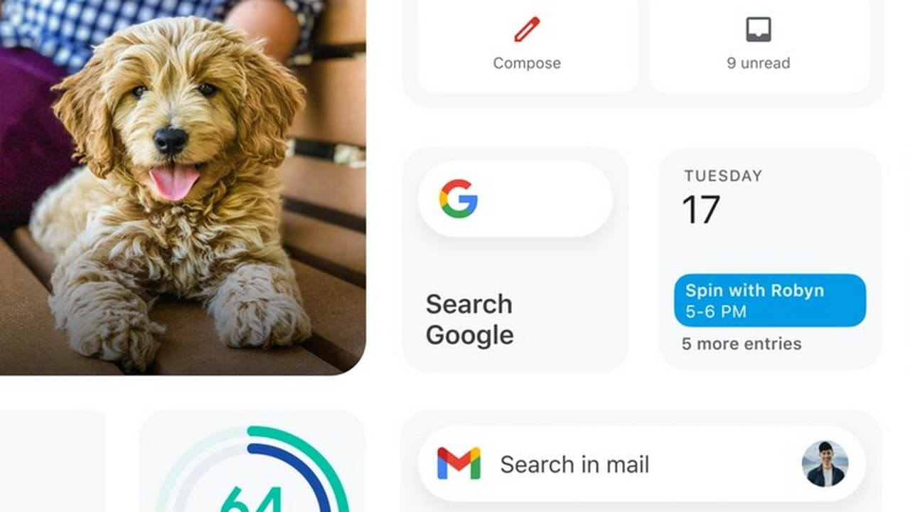 Google to soon roll out new widgets for Gmail, Google Drive and Fit for iOS users- Technology News, Gadgetclock