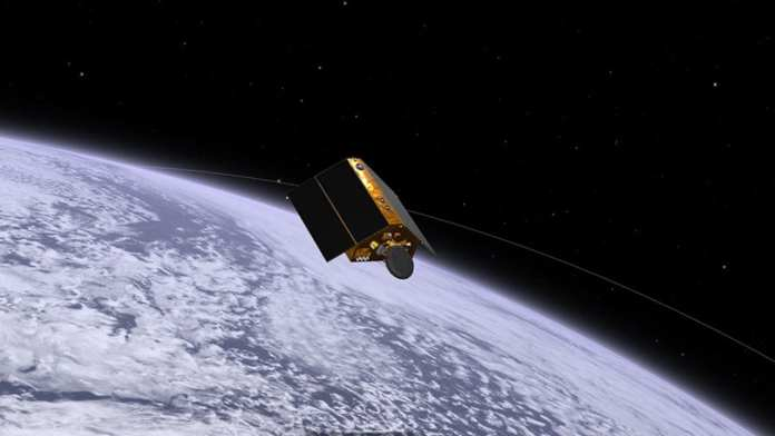 The Sentinel-6 Michael Freilich satellite launched from Vandenberg Air Force Base in central California on Nov. 21. NASA's Eyes visualization tools lets you track the spacecraft as begins its mission to measure sea level height as it orbits Earth. Credits: NASA/JPL-Caltech