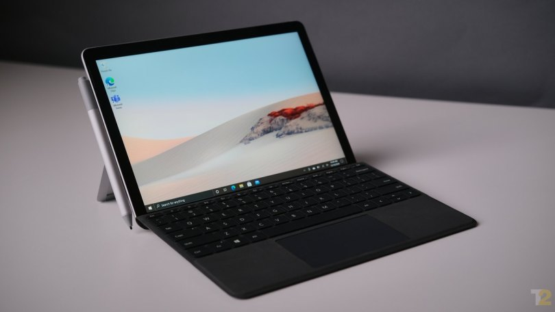 Aesthetically, the Microsoft Surface Go 2 is a gorgeous device. It's too bad that the software and internals aren't up to scratch. Image: Anirudh Regidi
