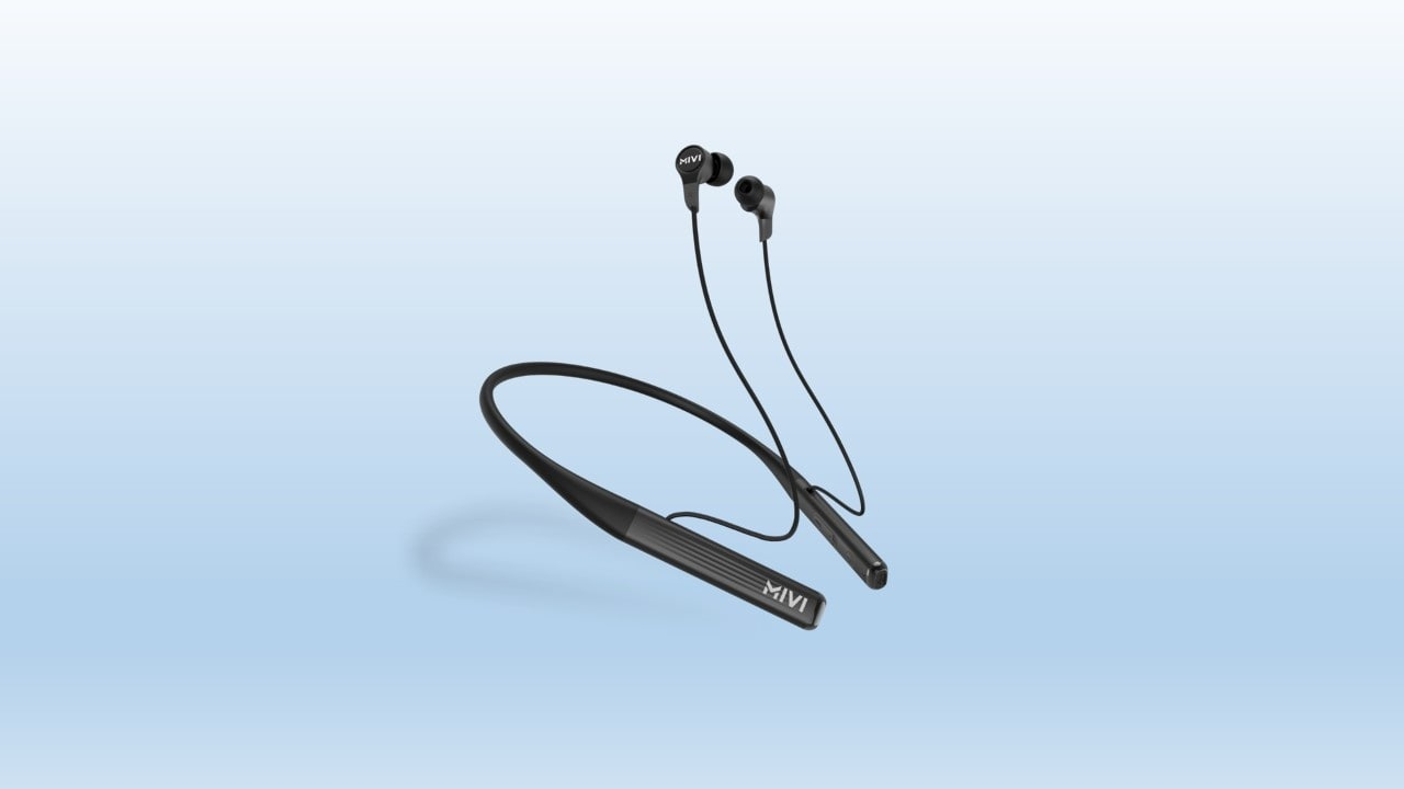 Mivi launches Collar 2 bluetooth earphones with support for super charging at Rs 1,399- Technology News, Gadgetclock