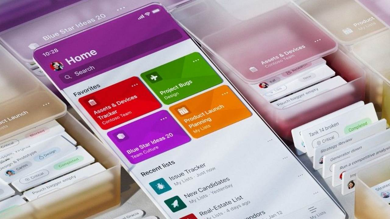 Microsoft Lists app that lets users categorise data in lists is now available for iOS users- Technology News, Gadgetclock