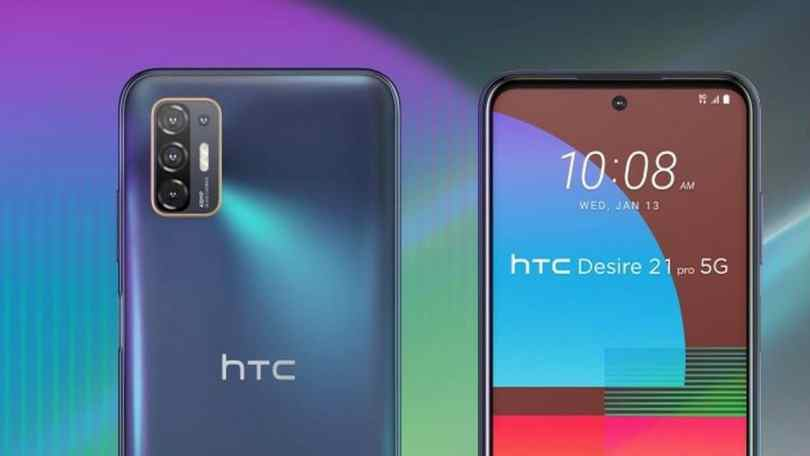 HTC Desire 21 Pro 5G with Snapdragon 690 chipset, quad rear camera setup launched