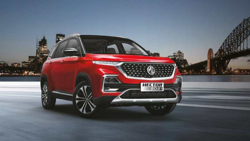 MG Hector 2021 facelift launched in India at a starting price of Rs 12.89 lakh
