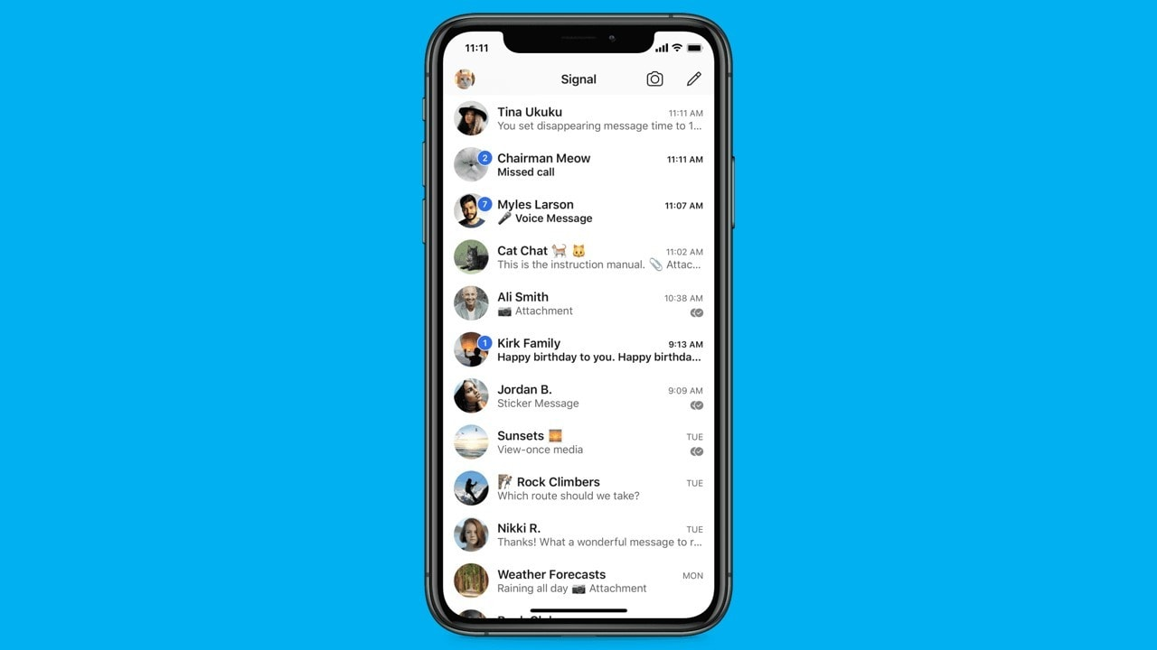 Signal to soon roll out chat wallpapers, animated stickers and more features for users in India- Technology News, Gadgetclock