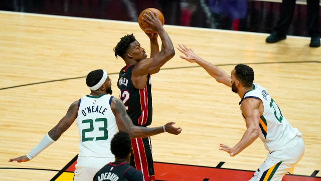 NBA: Jimmy Butler stars in Heat's 124-116 win over Jazz; Celtics snap  losing streak by beating Pacers - Sports News , Firstpost