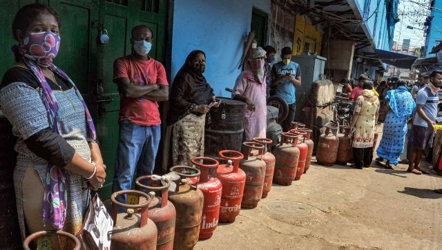 LPG cylinder prices increased by Rs 25, to cost Rs 794 in Metros; third hike this month