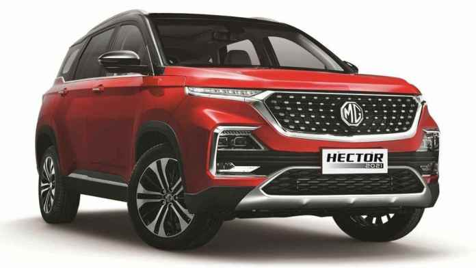 iCAT flagged a difference in emission levels for the MG Hector petrol-DCT model. Image: MG