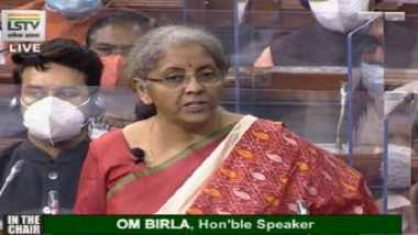 Budget 2021 LIVE Updates: Niramala Sitharaman announces Rs 1.03 lakh cr for highway projects, poll-bound states get mammoth share