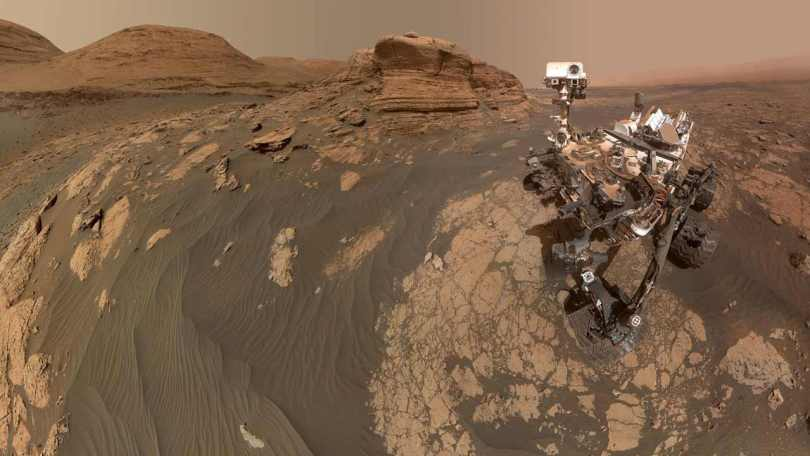 Curiosity rover on Mars shares stunning panorama, selfie with the rocky Mont Mercou