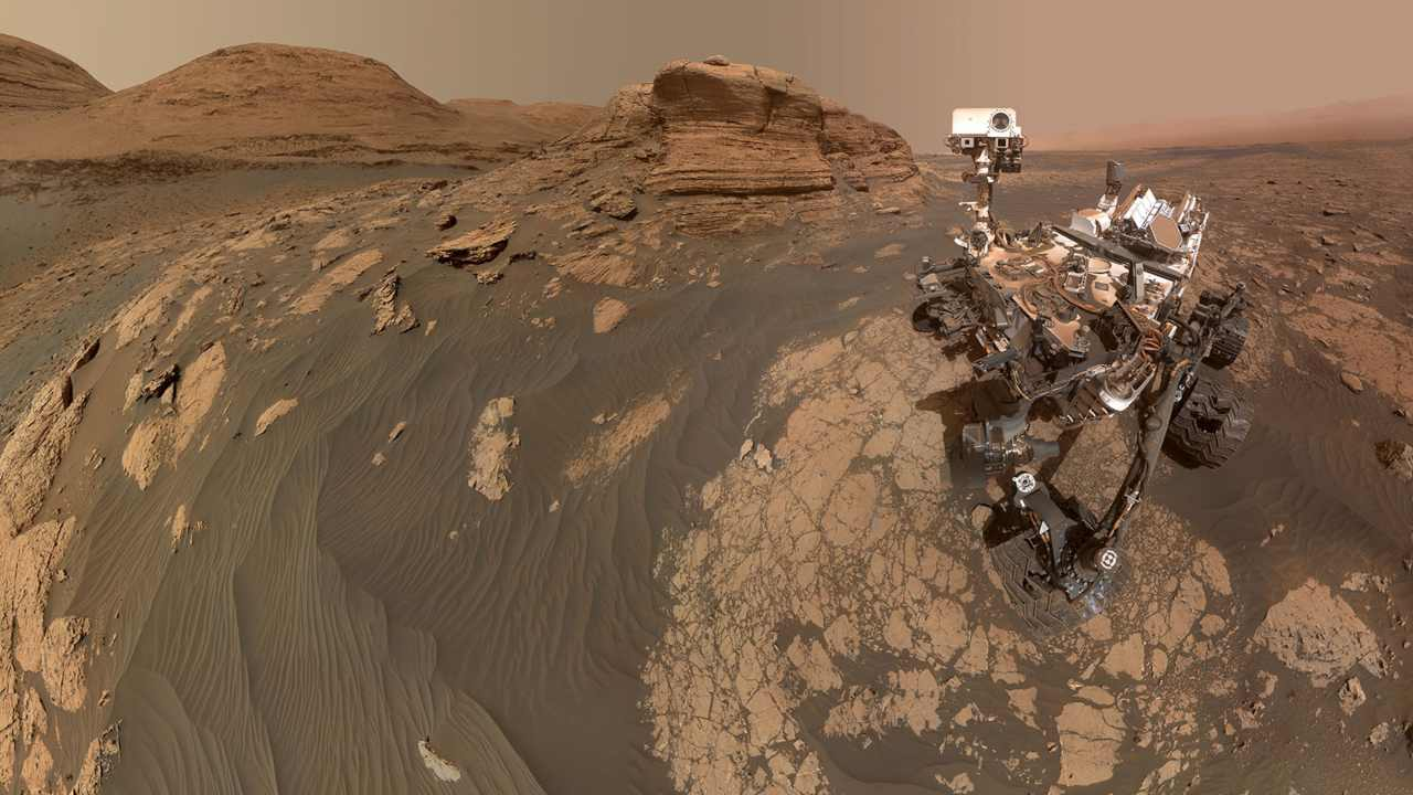 Curiosity rover on Mars shares stunning panorama, selfie with the rocky Mont Mercou- Technology News, Gadgetclock