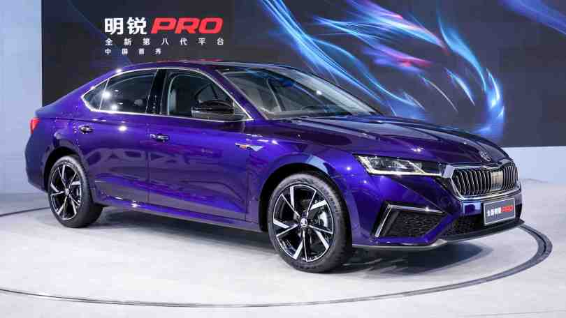 Skoda Octavia Pro makes world premiere, has a longer wheelbase than the standard Octavia