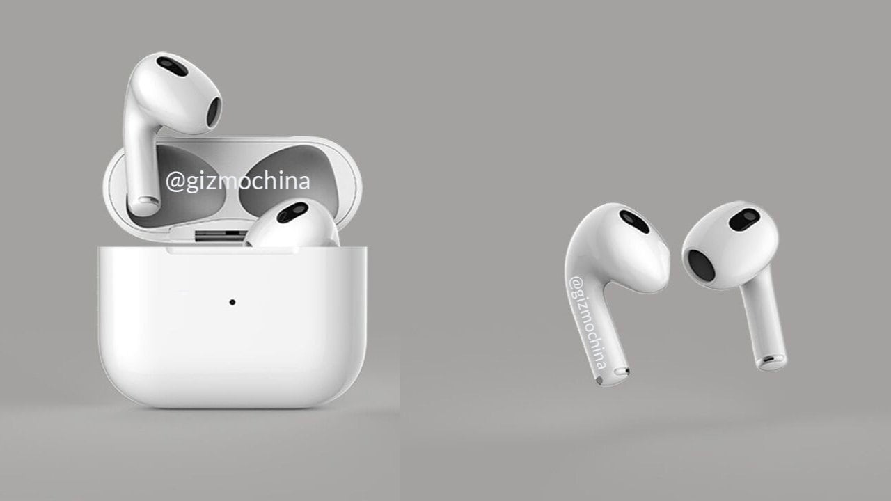 Apple AirPods 3 leak suggests shorter stem with changeable tips and more- Technology News, Gadgetclock