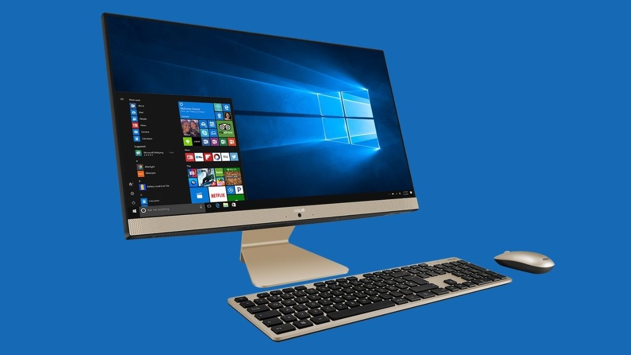 ASUS AiO V241 all-in-one PC with Intel 11th gen Tiger-lake Core i5 processor launched in India at Rs 61,990- Technology News, Gadgetclock