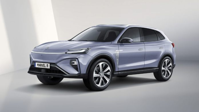MG Marvel R electric SUV revealed as the successor to the Marvel X