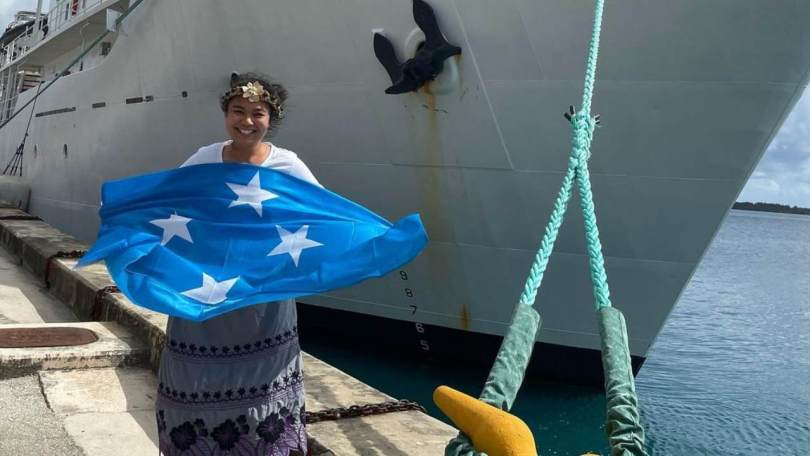 Nicole Yamase first Pacific Islander, only third woman to reach Challenger Deep