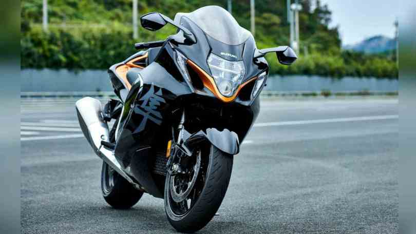 Deliveries of the new Suzuki Hayabusa will begin in the month of May. Image: Suzuki
