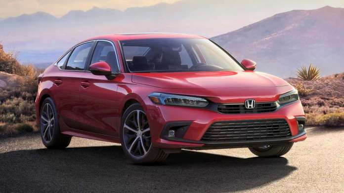 New Honda Civic showcased in production form ahead of world premiere on 29 April