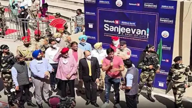Sonu Sood flags off Sanjeevani Ki Gaadi to raise awareness on Covid vaccine in 4,831 villages