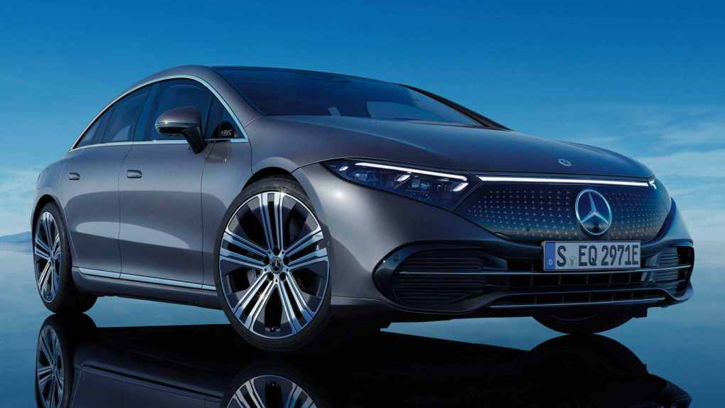 Soon, there will be AMG and Maybach versions of the Mercedes-Benz EQS. Image: Mercedes-Benz